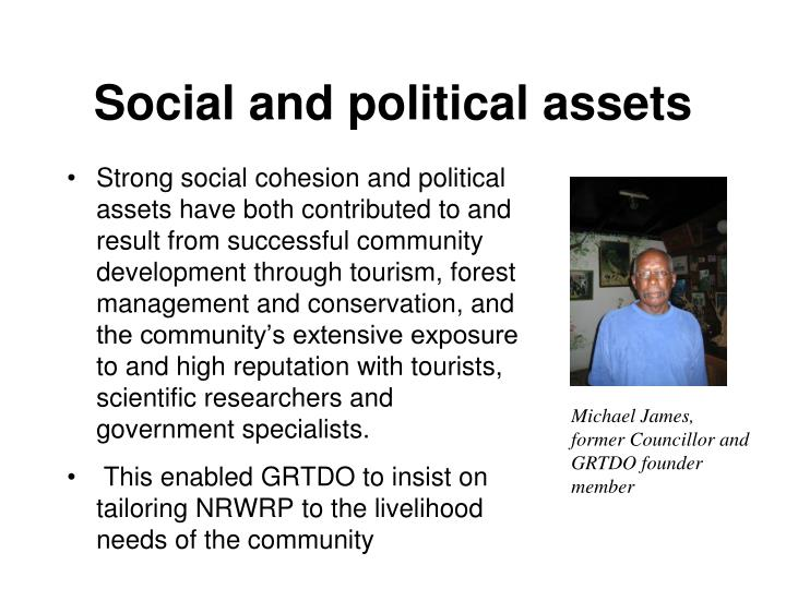 Social and political assets
