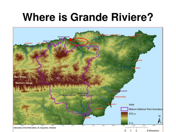 Where is grande riviere