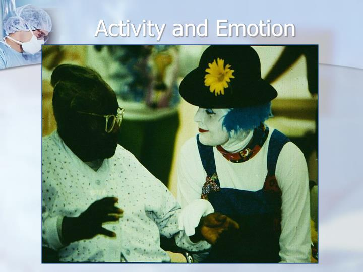 Activity and Emotion