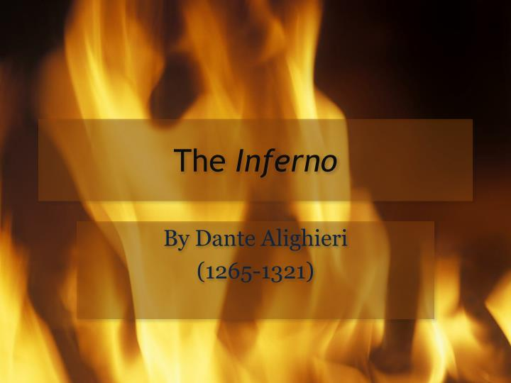 the inferno n.
