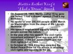 martin luther king s i had a dream speech