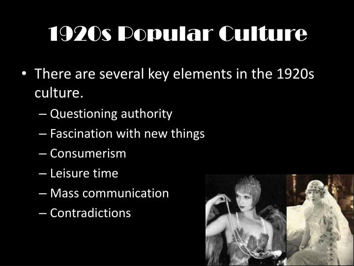 social changes in 1920s