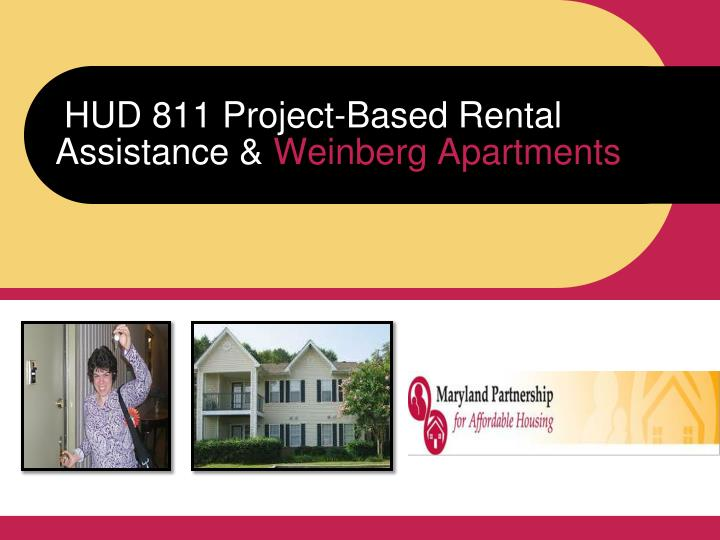 hud 811 project based rental assistance weinberg apartments n.