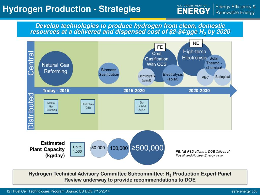PPT - U S  Department of Energy Hydrogen & Fuel Cells Program