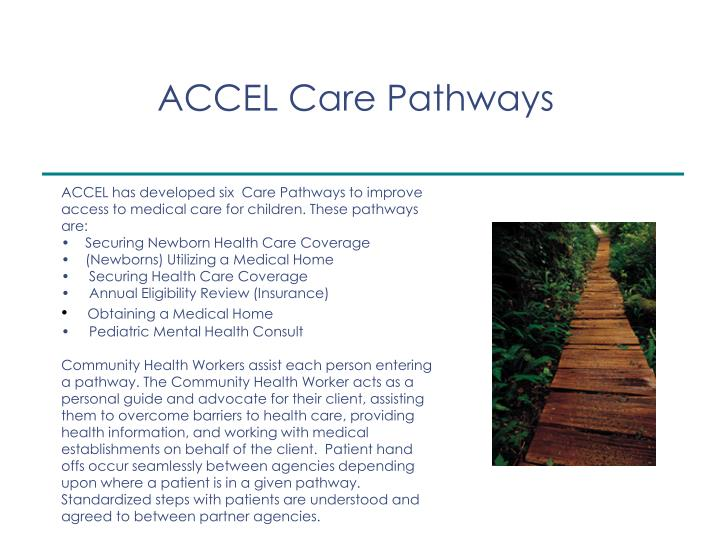 ACCEL Care Pathways