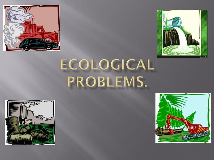 ecological problems n.