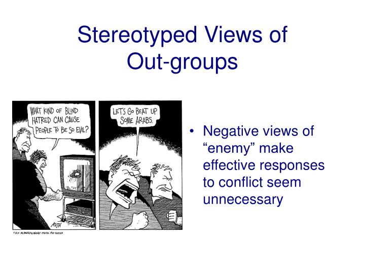 Stereotyped Views of