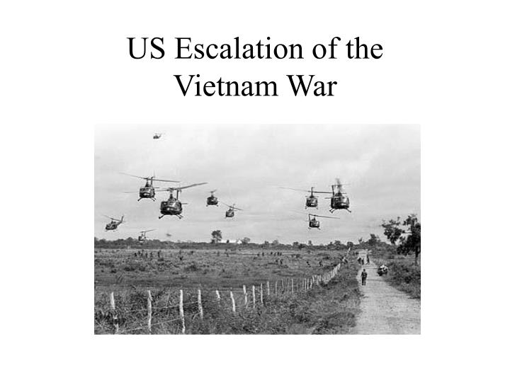 US Escalation of the