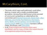 mccarythism cont