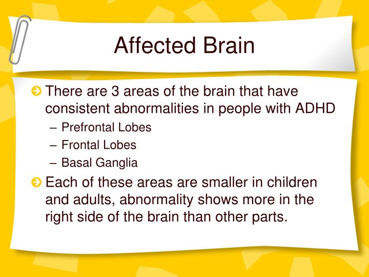Affected Brain