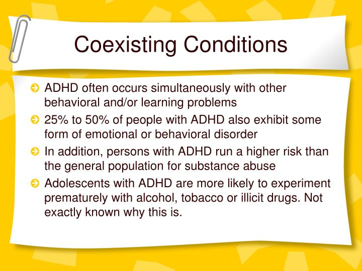 Coexisting Conditions
