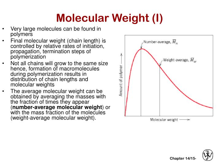 N Molecular Weight PPT - CHAPTERS 14/15: ...