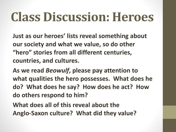 your personal hero essay