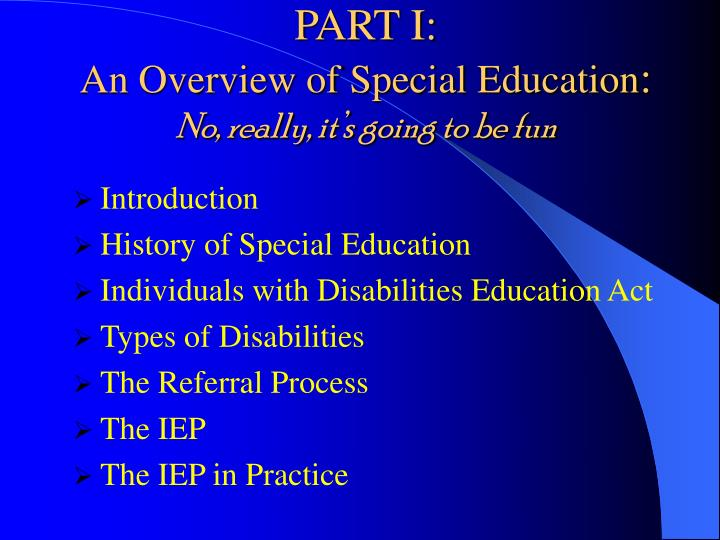 a introduction into individuals with disabilities act These truths are at the core of both the americans with disabilities act into the community is only regarding individuals with disabilities are to.