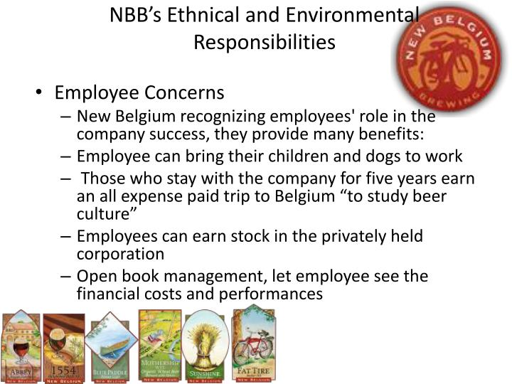 NBB's Ethnical and Environmental Responsibilities