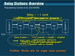 relay stations overview