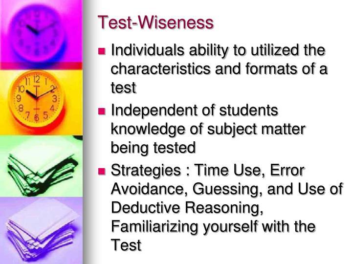 Test-Wiseness