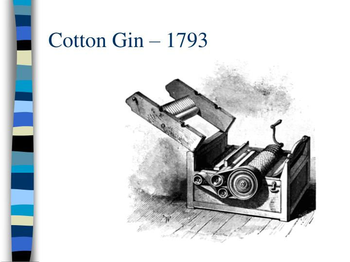Cotton Gin – 1793