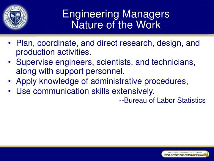 Engineering Managers