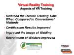 virtual reality training a spects of vr training1