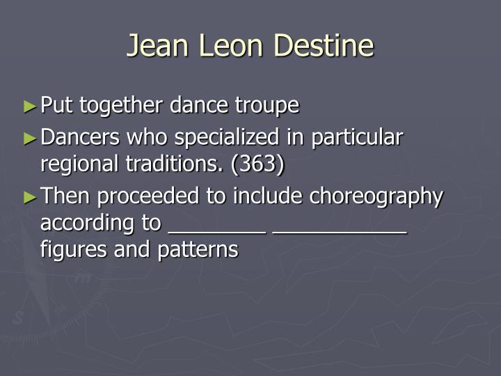 Jean Leon Destine