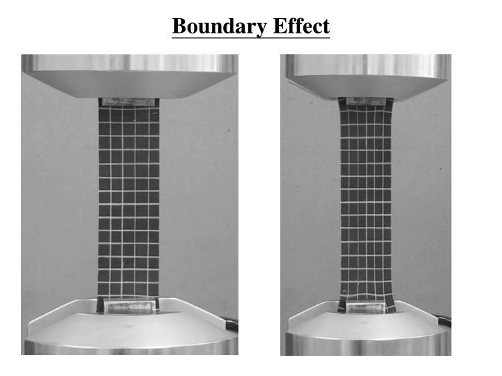 Boundary Effect