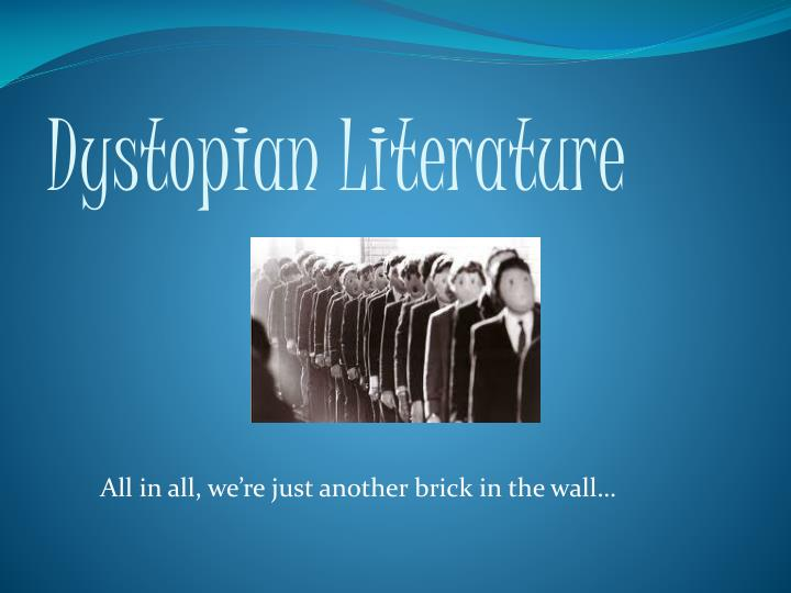 women s literature and the dystopian point of view There's a universal question that most writers struggle to answer: how to choose a point of view for your novelthere are, obviously, several different points of view available to you—and, less obviously, several advantages and disadvantages to each.