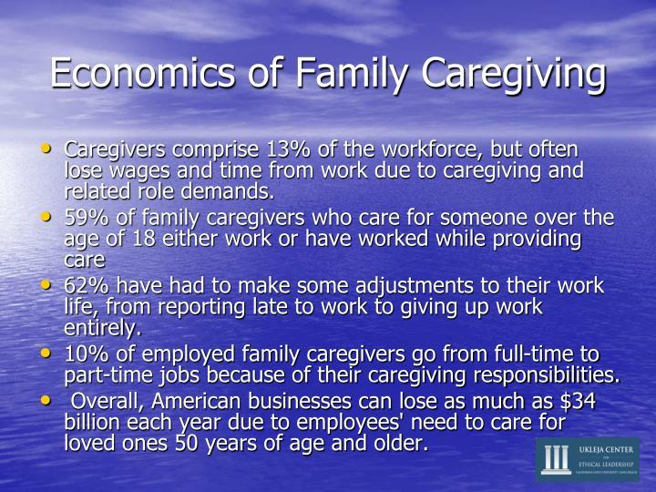 Economics of Family Caregiving