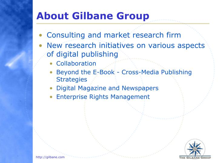 About gilbane group