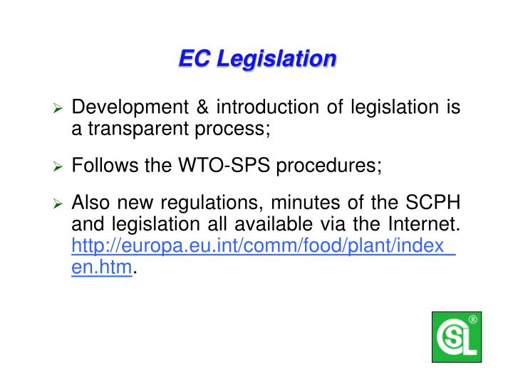 EC Legislation