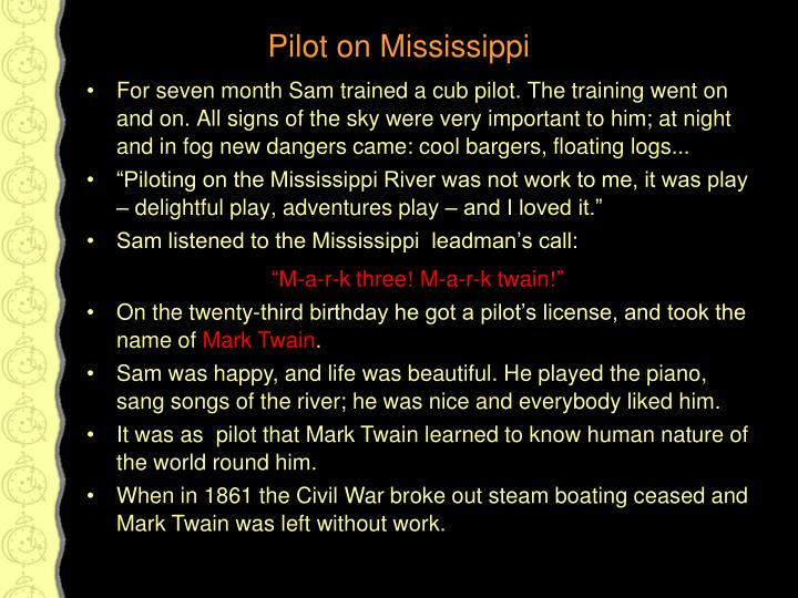 a cub pilot by mark twain