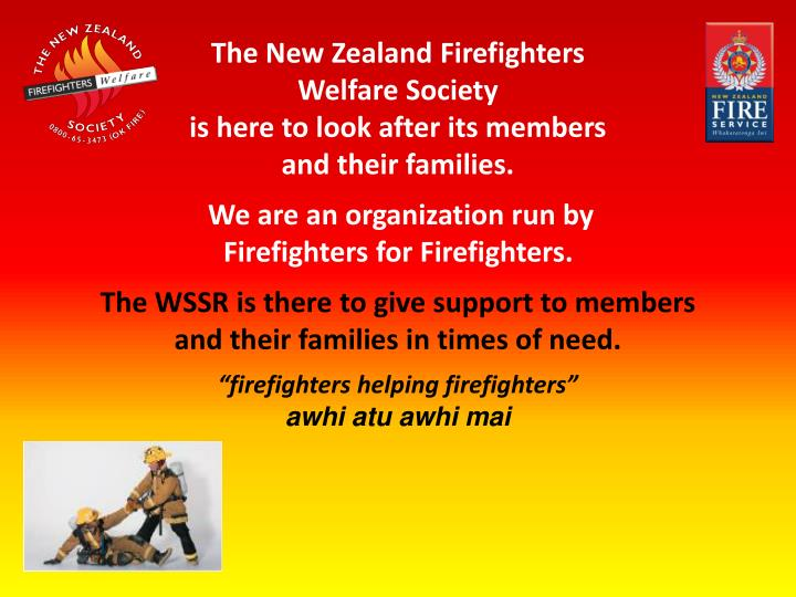 The New Zealand Firefighters