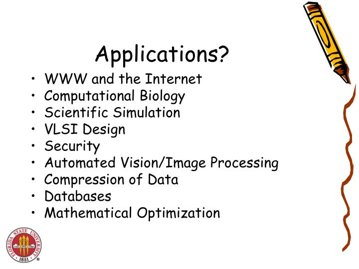 Applications?