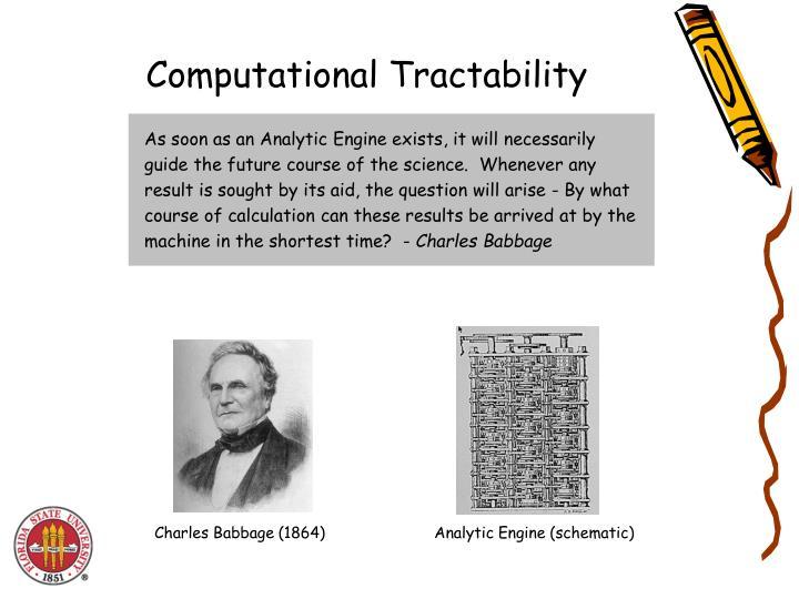 Computational Tractability