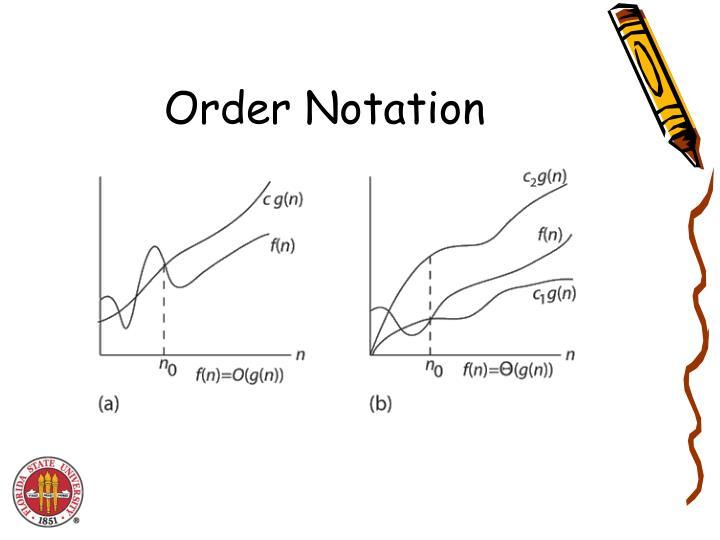 Order Notation