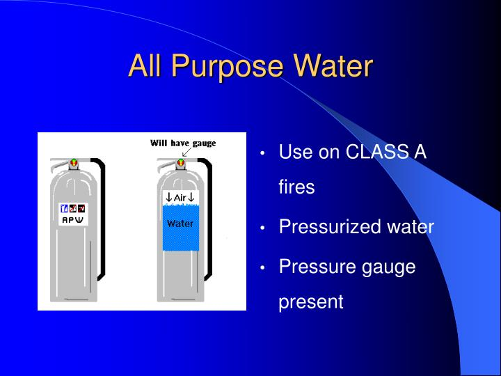 All Purpose Water