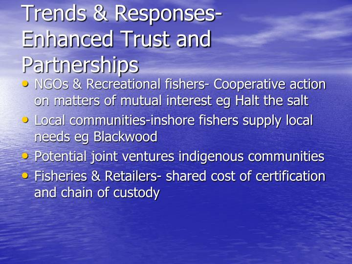 Trends & Responses-