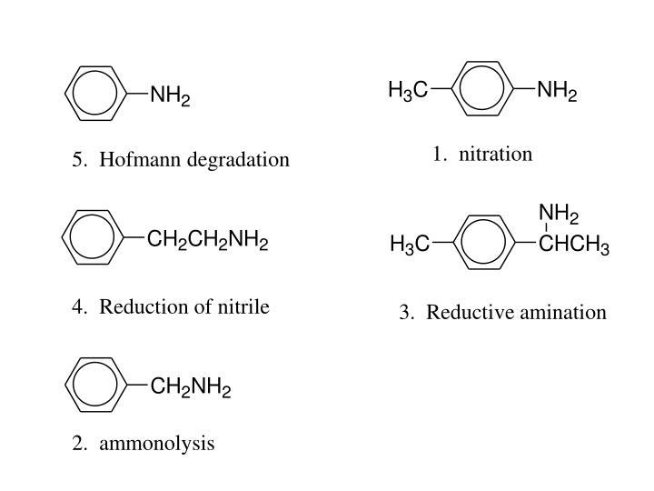 1.  nitration