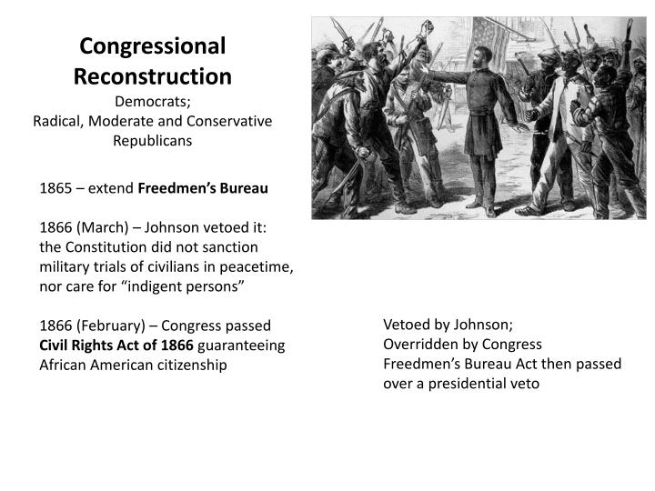 Congressional Reconstruction