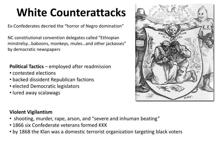 White Counterattacks