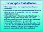 isomorphic substitution