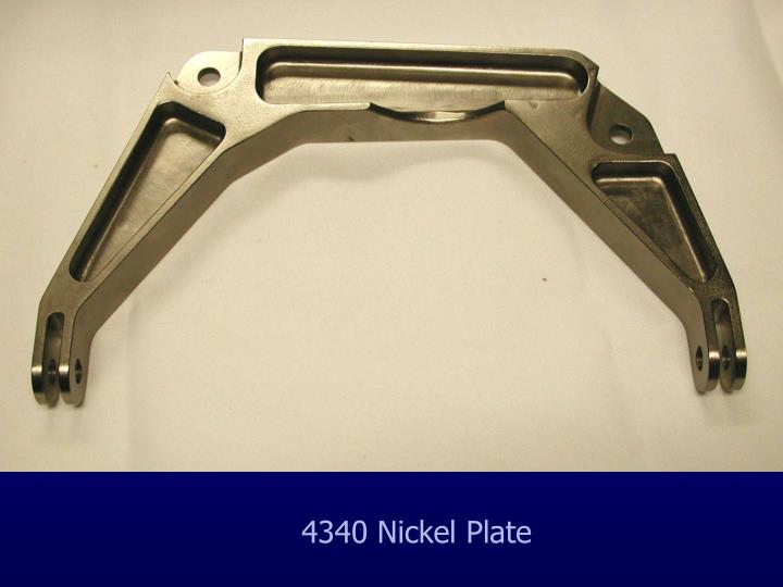 4340 Nickel Plate