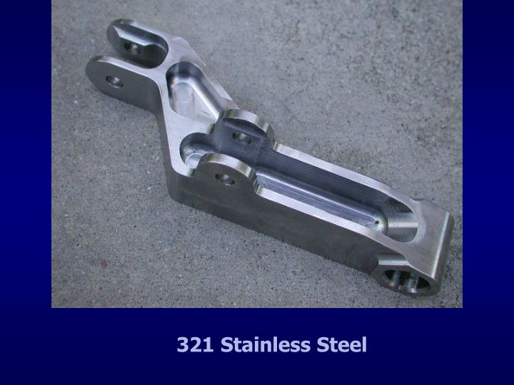 321 Stainless Steel