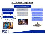 pcc business segments