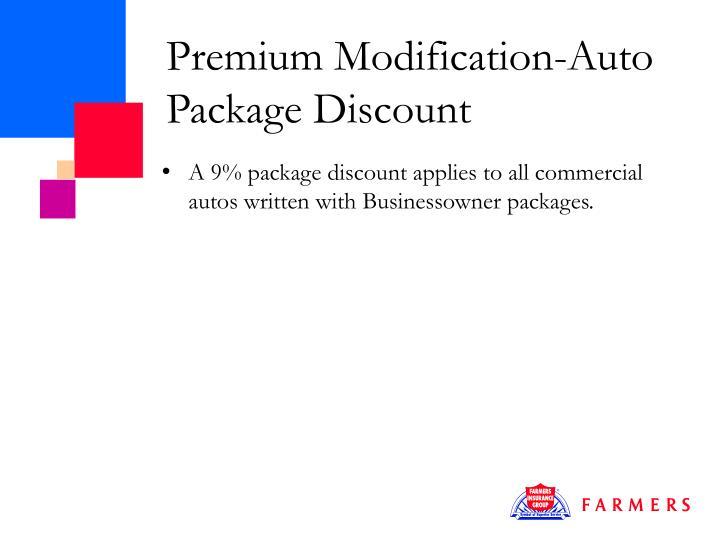 Premium Modification-Auto