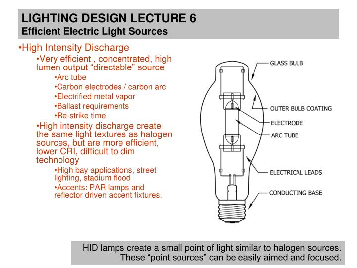 Ppt Lighting Design Lecture 6 March 4th Efficient