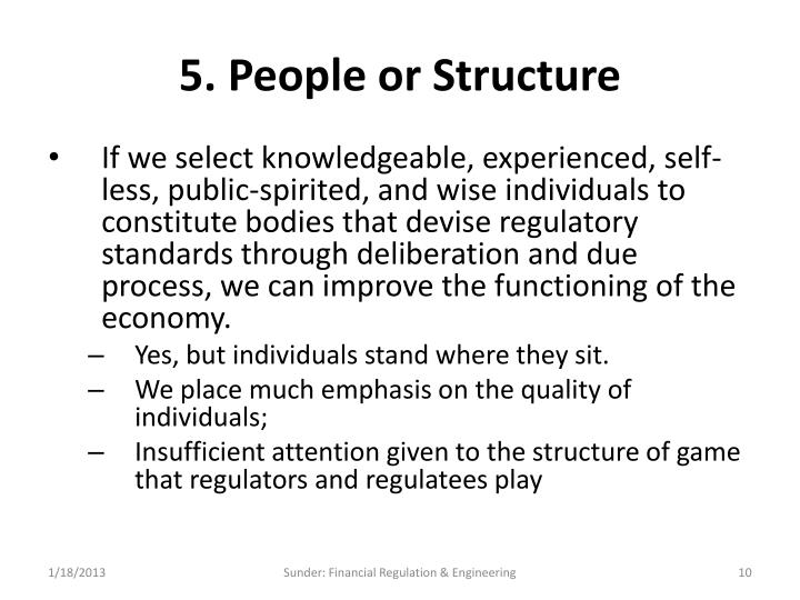 5. People or Structure
