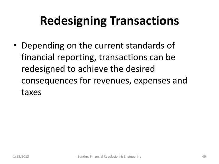 Redesigning Transactions