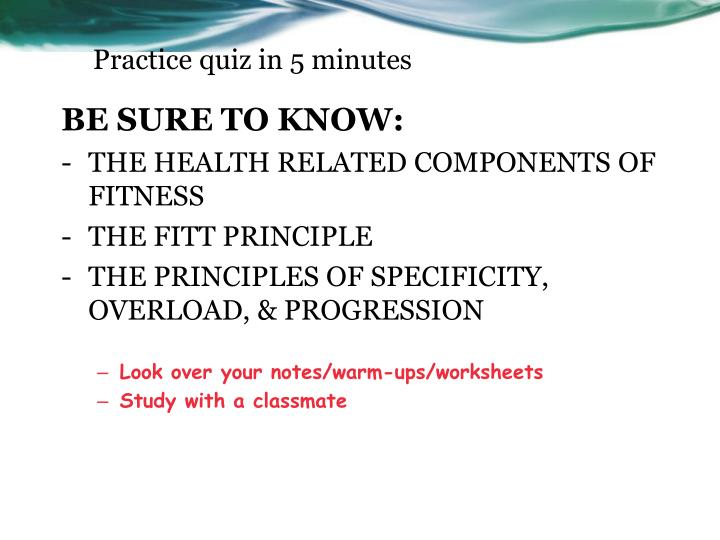 Ppt Fitness Project Criteria Powerpoint Presentation Id1780389