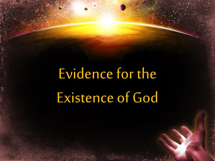 the argument for the existence of god However, a famous and powerful argument for god's existence known as the ontological argument purports to be able to show that god's being the greatest possible being entails god's existence the mere definition of god proves his existence.